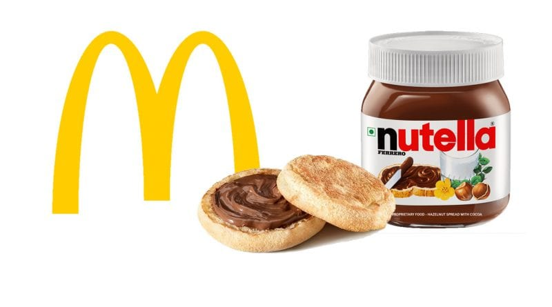 nutella mcdonald's